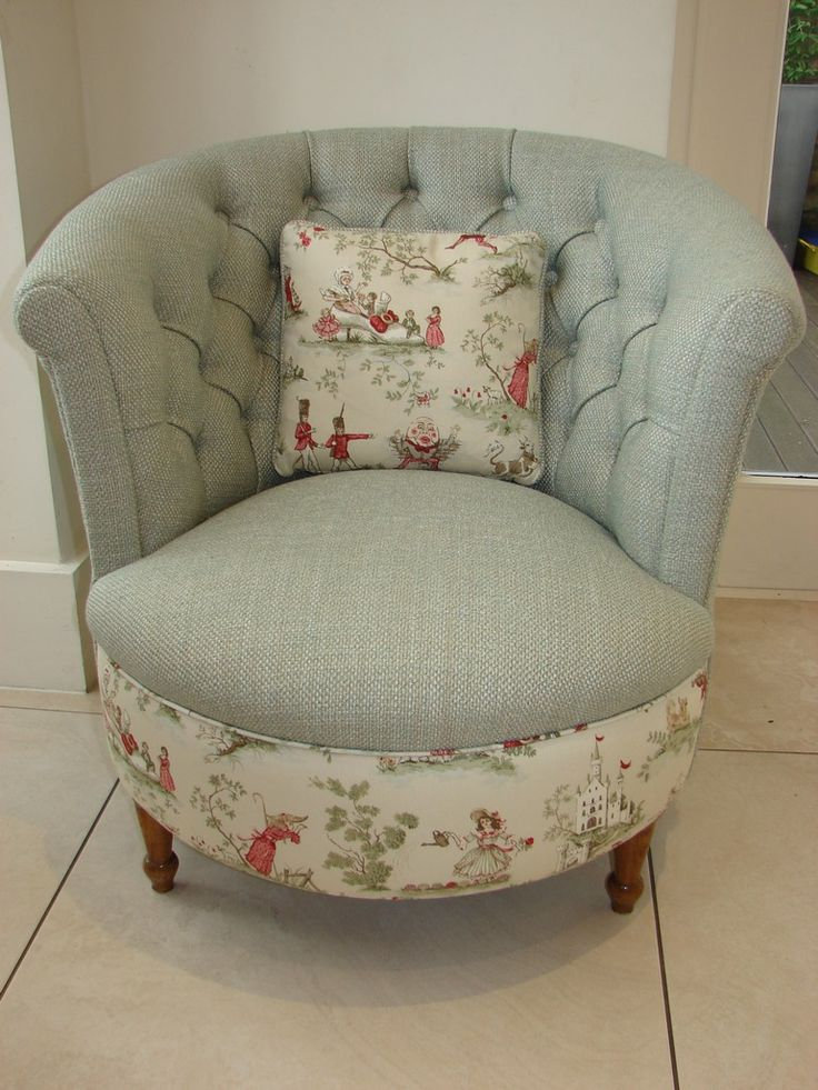 Victorian nursery chair from Jess Graham interiors
