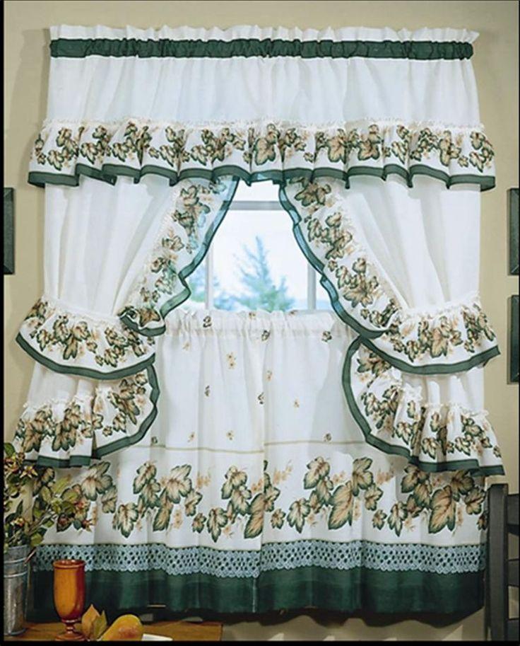 17 mejores ideas sobre cortinas de cocina en pinterest for Quiero ver cortinas