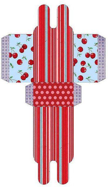 шаблоны упаковочных коробочек - Самое интересное в блогах