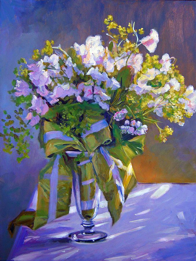 David Lloyd Glover (b.1949) —  Wedding Bouquet, 2012  (676x900)