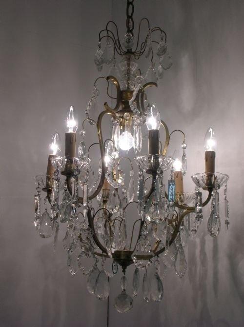 crystal chandelier c.1920 - 655 Best Chandeliers Images On Pinterest Crystal Chandeliers