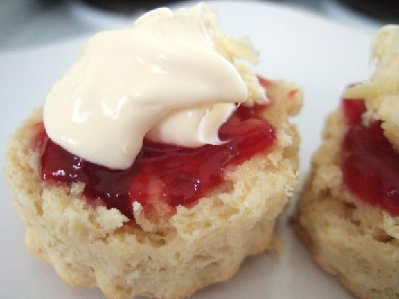 Scones with jam and clotted creamScones Nz, Scone Recipes, Clotted Cream, Easy Scones, Brunches Time, Recipe Muffins, Lemonade Scones, Scones Recipe, Classic Scones