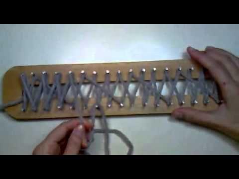 Video tutorial de punto turco en telar maya - La Hilandera