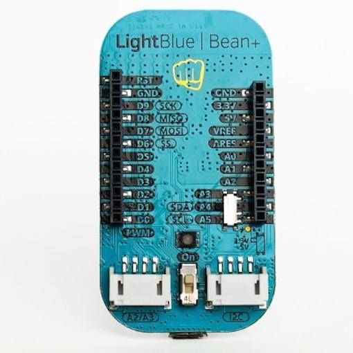 LightBlue Bean+ is an Arduino-compatible Bluetooth board for the mobile age. #Atmel #LightBlueBean #BLE #Arduino #Kickstarter