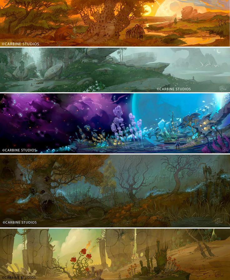 Wild Star Concept Art - Loftis