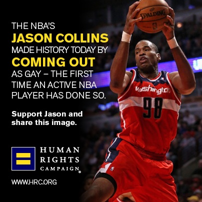 Jason Collins Changes the Face of Sports Forever By Coming Out
