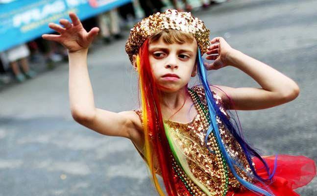 Boy Dances In Gay Pride Parade, Mom Wins At Parenting