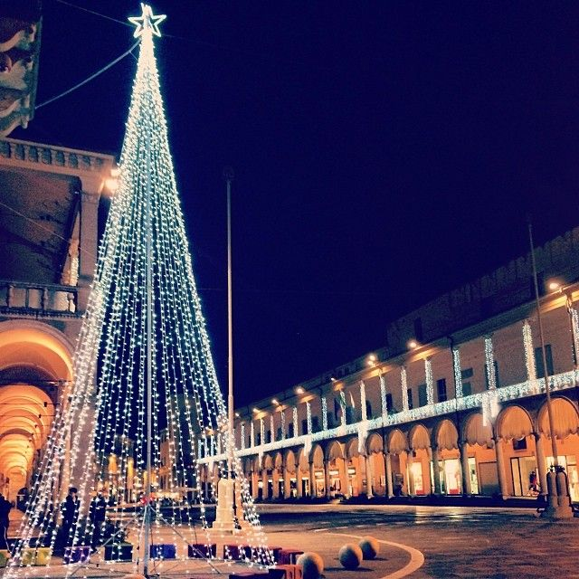 Christmas lights in Faenza! - Instagram by kecko91