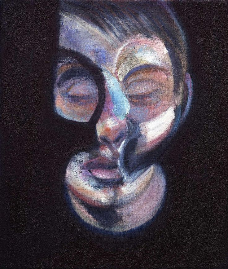 Francis Bacon portrait of Freud