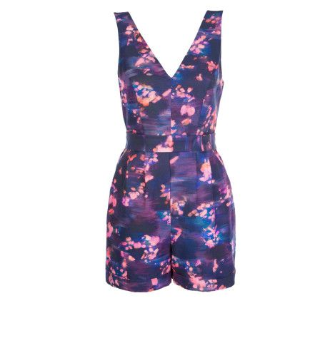 Alannah Hill Perfect Posie Playsuit.