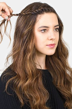 Or switch to a twist and pin farther back.   18 Ways To Get Your Bangs Out Of Your Face