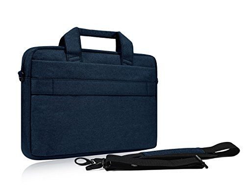 15.6 Inch Laptop Shoulder Bag, Waterproof Multi-functional Fabric Laptop Sleeve Bag Case with Carrying Strap for Acer Chromebook 15, Dell Inspiron, Asus Dell Lenovo Toshiba HP Chromebook, Navy Blue #Inch #Laptop #Shoulder #Bag, #Waterproof #Multi #functional #Fabric #Sleeve #Case #with #Carrying #Strap #Acer #Chromebook #Dell #Inspiron, #Asus #Lenovo #Toshiba #Chromebook, #Navy #Blue