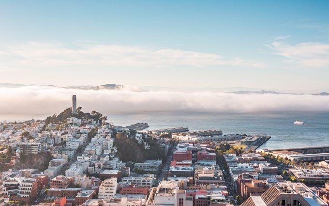 San Francisco Bay Wallpaper 4K
