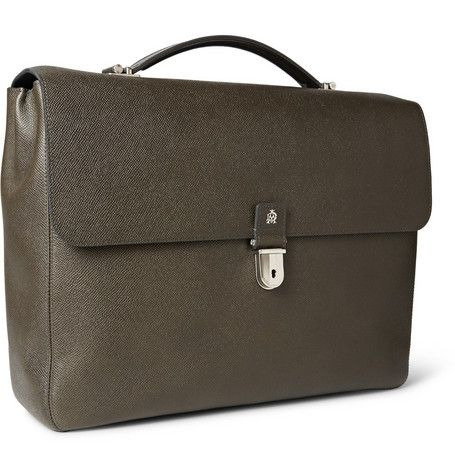 Alfred DunhillBourdon Grained-Leather Briefcase