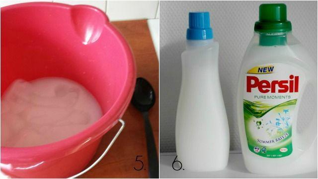 DIY zelf wasmiddel maken