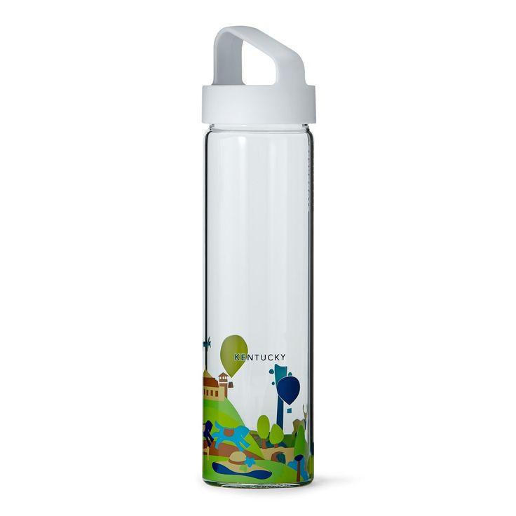 Kentucky glass water bottle- Starbucks