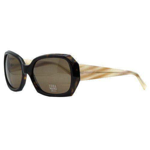 Vera Wang V 213 TO 57 Tortoise Oversized Cornered Fashion Sunglasses Vera Wang. $59.99. Save 86% Off!