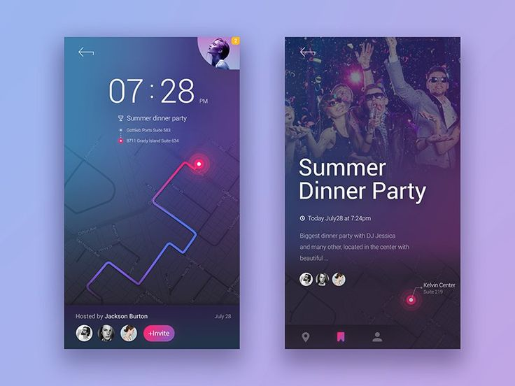 Events Discover App