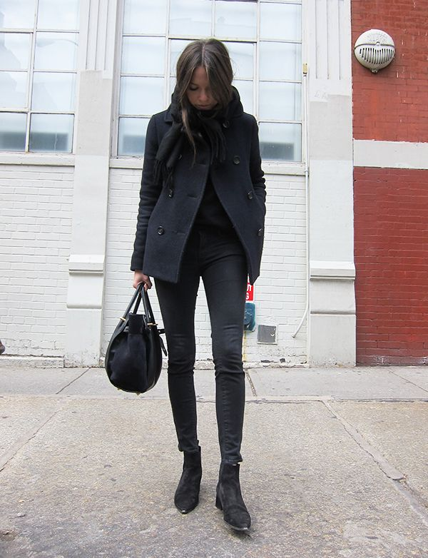 Peacoat and cashmere knit from Uniqlo, my favorite pair of jeans from Frame Denim, suede boots from Acne Studios, bag from Nina Ricci. Pretty much what I wear every day. Well almost. This is from one of the last days in New York, makes me want to go back!...