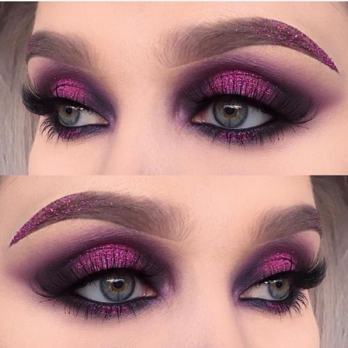 """sugarpillcosmetics: """"Flawless eyes by @helenesjostedt using #sugarpill Cold Chemistry palette and @urbandecaycosmetics Electric palette! """""""