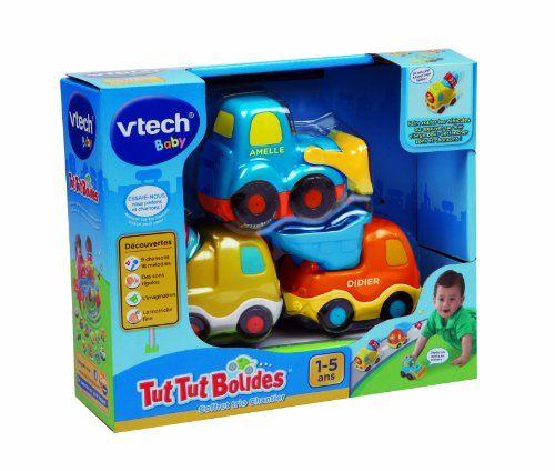 Vtech - 205725 - Véhicule Miniature - Tut Tut Bolides - Coffret Trio Chantier - Bétonnière + Super Chantier + Tracto Pelle VTech 17€ http://www.amazon.fr/dp/B00G6E6EBI/ref=cm_sw_r_pi_dp_y5hzub0PMJTN5