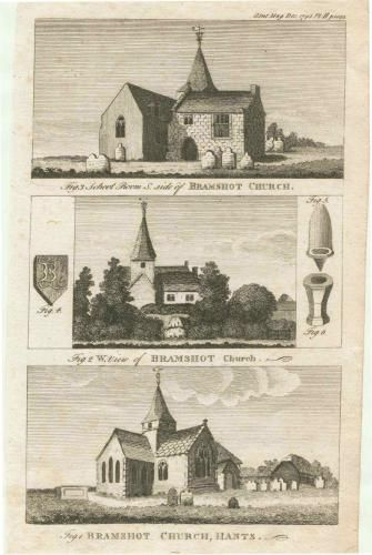 Early pictures of St Mary's