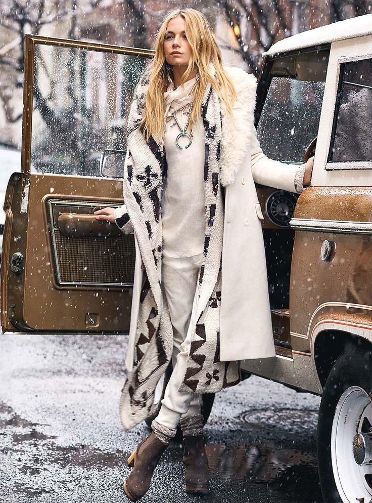 Boho Winter Fashion Ideas