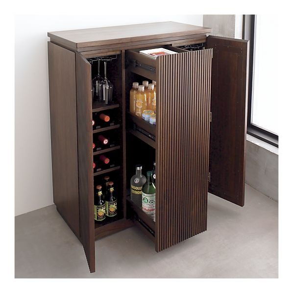 92 best images about mini bar on pinterest small home bars crate and barrel and mini bars. Black Bedroom Furniture Sets. Home Design Ideas