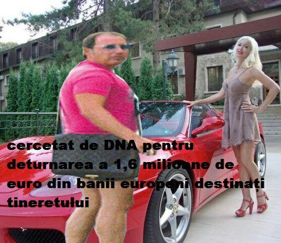 Cristian Rizea cercetat de DNA  PENTRU FURT. Îl doare în cot cu banii furați si-a luat Ferrari