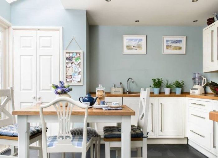 Top 20 Kitchen Paint Color Ideas Designs And Pictures Kitchen Wall Colors Blue Kitchen Walls Blue Kitchen Paint