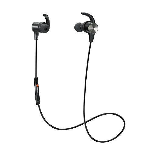 TaoTronics Bluetooth Headphones, Wireless 4.1 Magnetic Ea... http://amzn.to/2kDZOVS