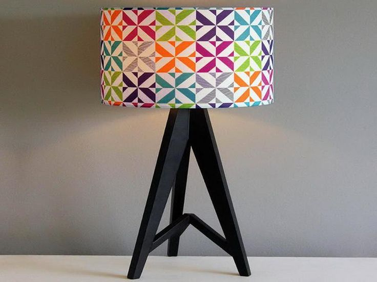 Unique Design of Funky Lamp Shades: Handmade Funky Lamp Shades – Bloombety