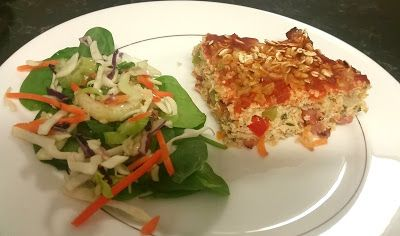 High Protein Chicken and Vegetable Loaf