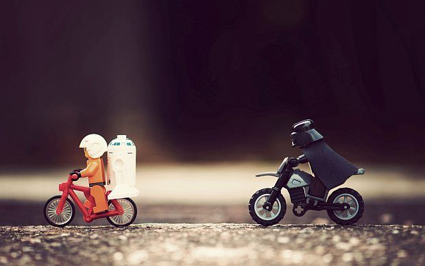 Use the Pedals, Luke! by Mike Stimpson