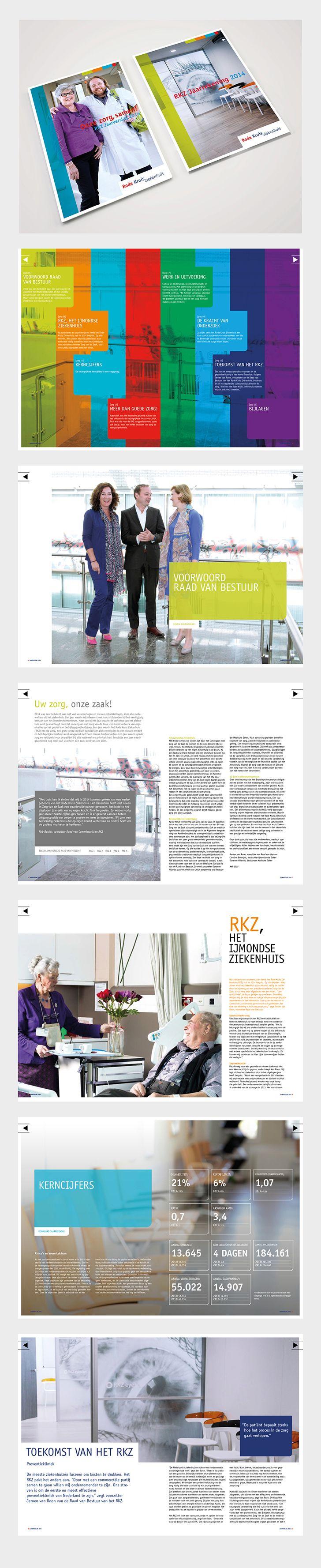 Corporate Design :: Rode Kruis Ziekenhuis :: Digitaal jaarverslag.