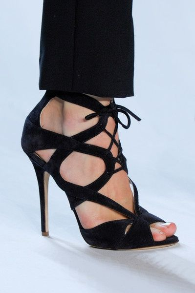 Sexy black sandals - Fashion and Love