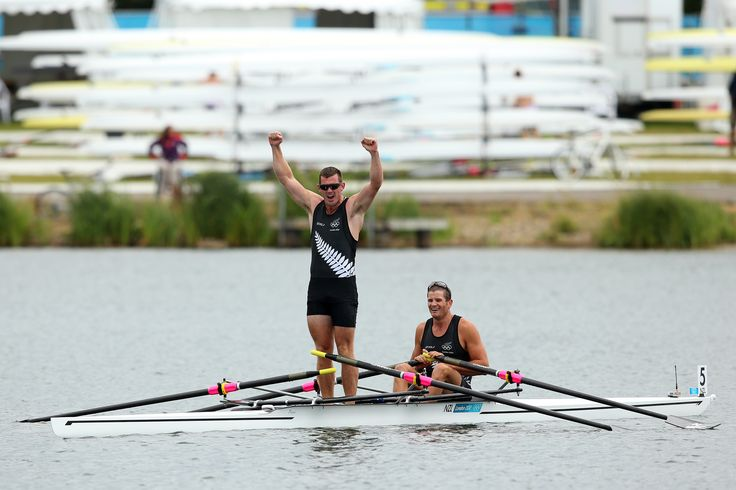 Nathan Cohen and Joseph Sullivan win Gold in the Men's double sculls (c) Getty Images