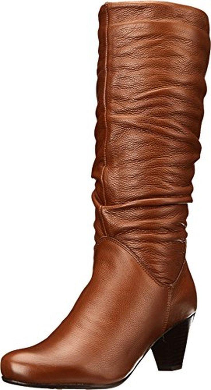 Aldo Women's Oceima Slouch Boot, Cognac/Bronze, 39 EU/8.5 B US