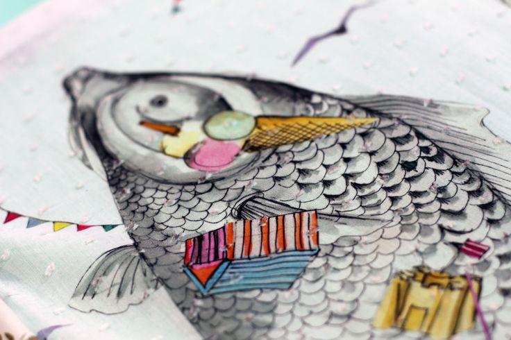 Première Vision Spring Summer 18 Fair Report___POETIC FISHED PRINT TREND___Seride