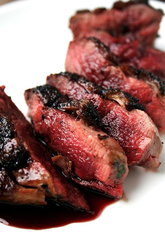 Seared Duck Breast withPort Wine Reduction