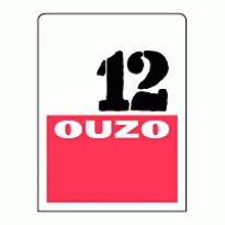 Ouzo 12 Logo. Get this logo in Vector format from https://logovectors.net/ouzo-12-2/