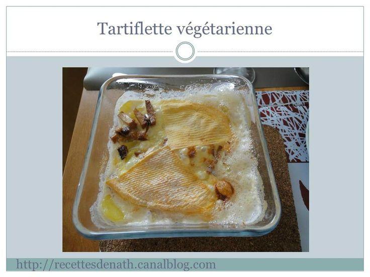 Tartiflette végétarienne !