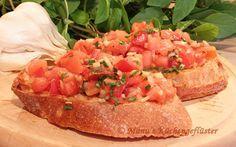 Manus Küchengeflüster: Bruschetta mit Tomaten