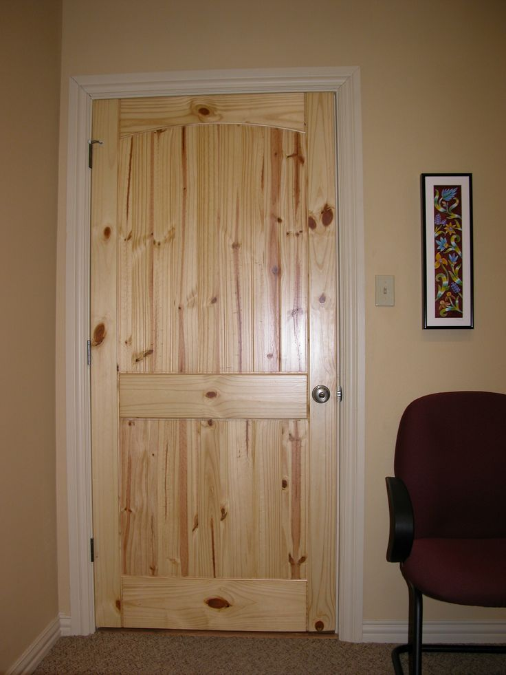 OFF WHITE TRIM WITH PINE DOORS   Google Search