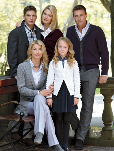 Image result for preppy family