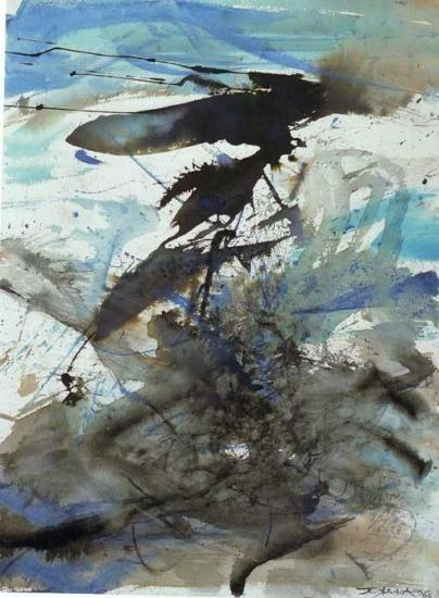 17 meilleures id es propos de zao wou ki sur pinterest for Artiste peintre chinois
