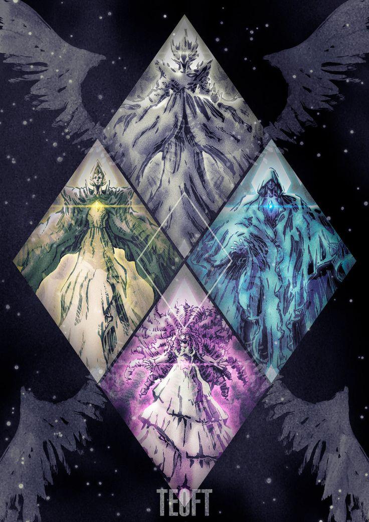 Best 25 steven universe diamond ideas on pinterest for Yellow diamond mural