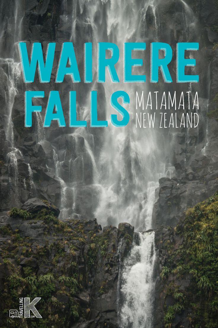Wairere Falls hike is the highest waterfall in New Zealand's North Island near Matamata.