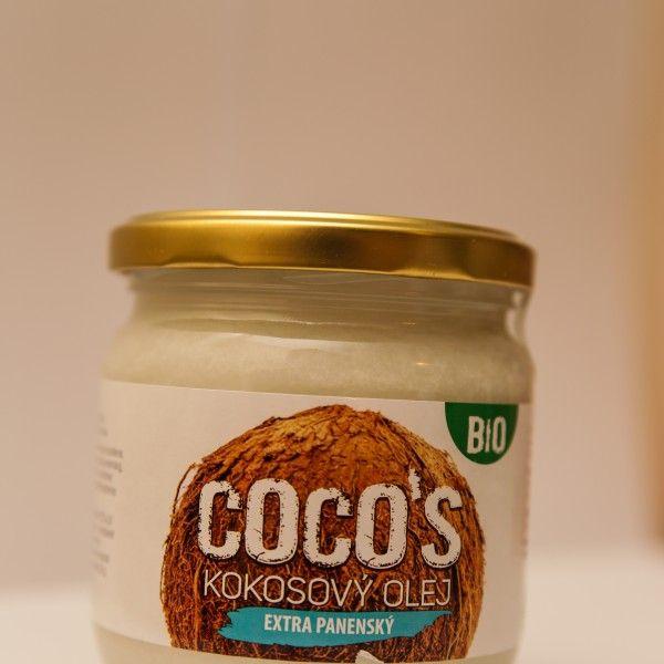 Kokosový olej extrapanenský BIO 200ml