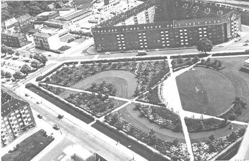 Vitus Berings Park. C.T.Sørensen